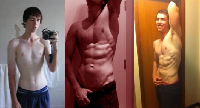 Skinny Ripped Transformation