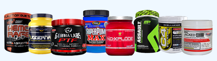 Workout supplements sale