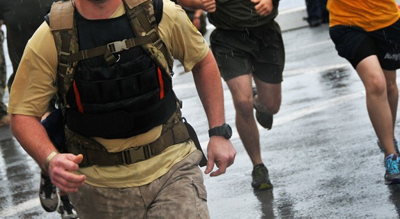 weighted vest training