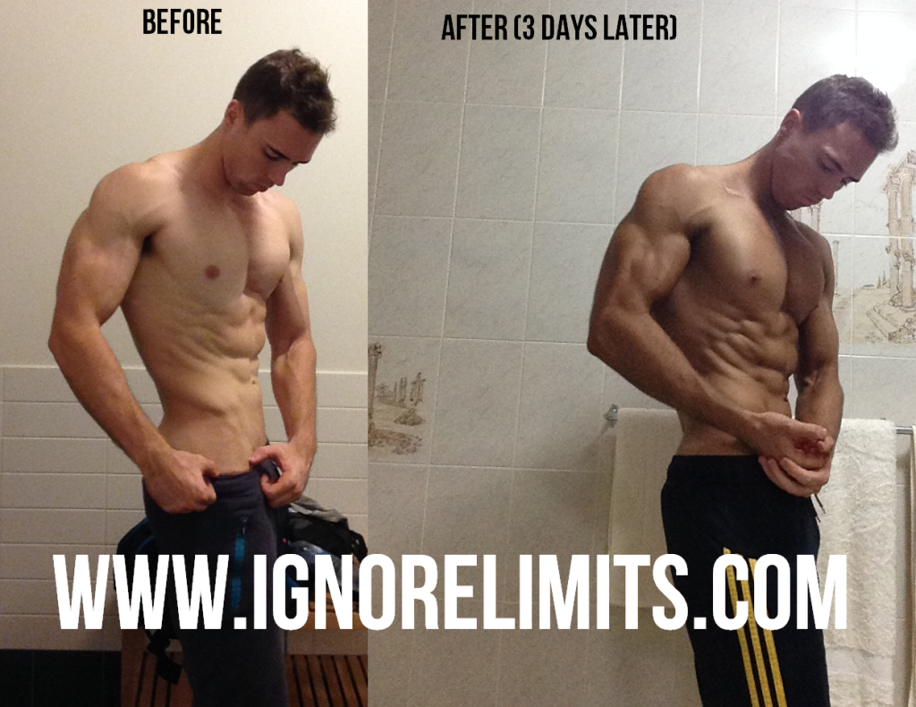 Ripped Freak Diuretic Review Before After