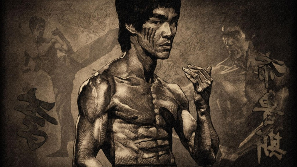 bruce lee dragon flag exercise