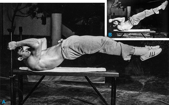 Dragon Flag Exercise Bruce Lee S Ab Exercise Of Choice