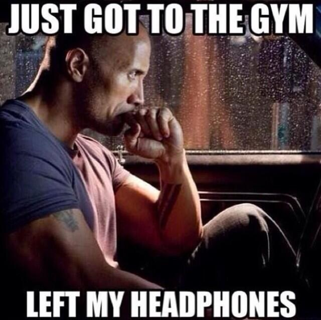 The Rock Gym Headphones