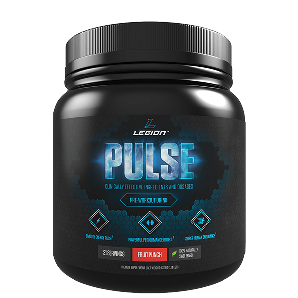 Legion Pulse Pre Workout Supplemnt