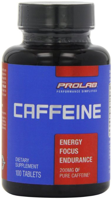 Prolab 200mg Caffeine Pills Review