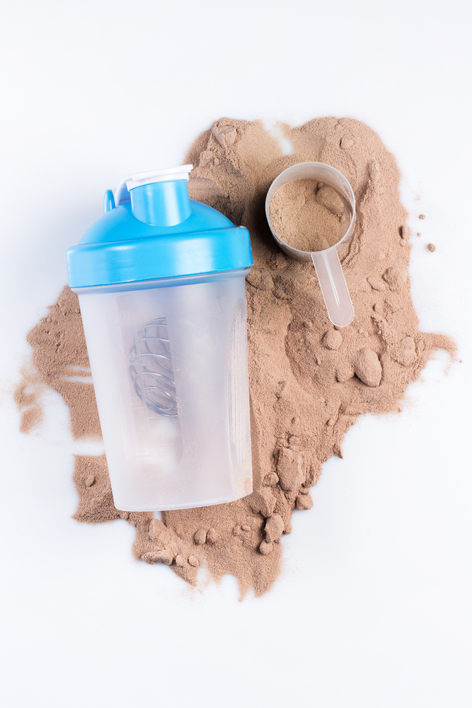 High protein snack shake