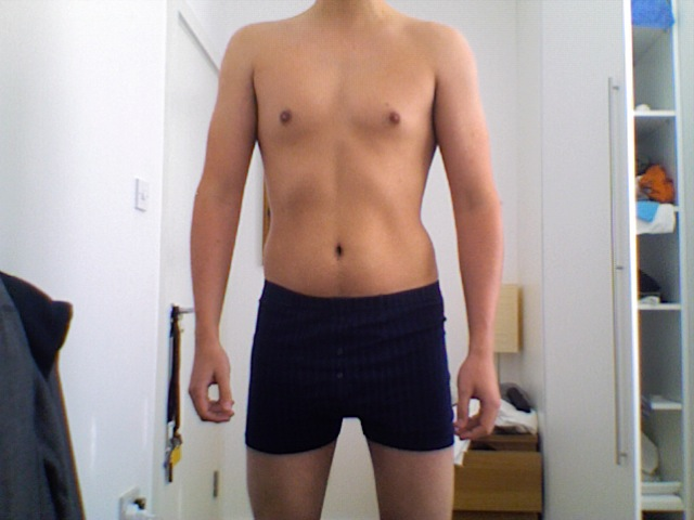 skinny fat physique