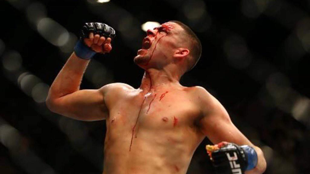 Nate Diaz UFC 196