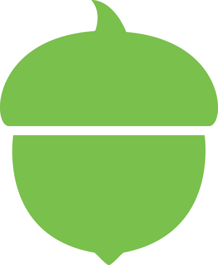 Acorns logo (PRNewsFoto/Acorns)