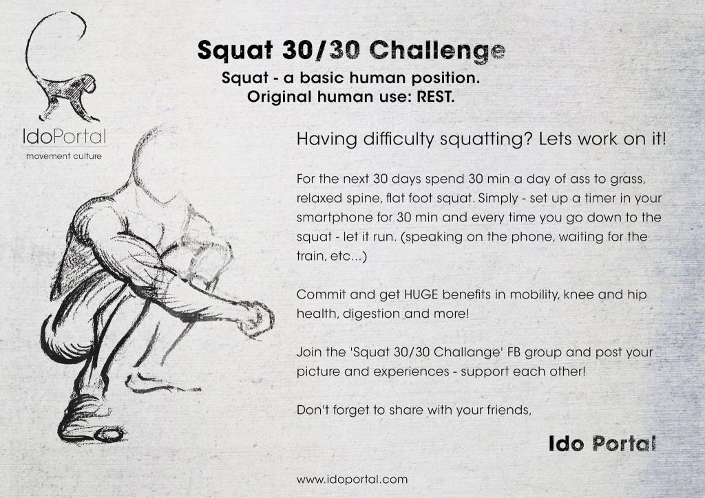 Ido Portal 3030 Squat Challenge2