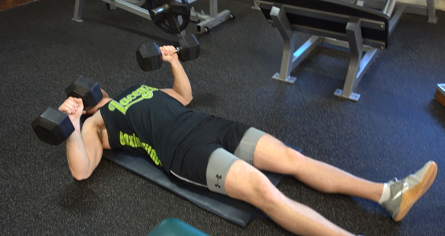 How To: Dumbbell Floor Press - Ignore