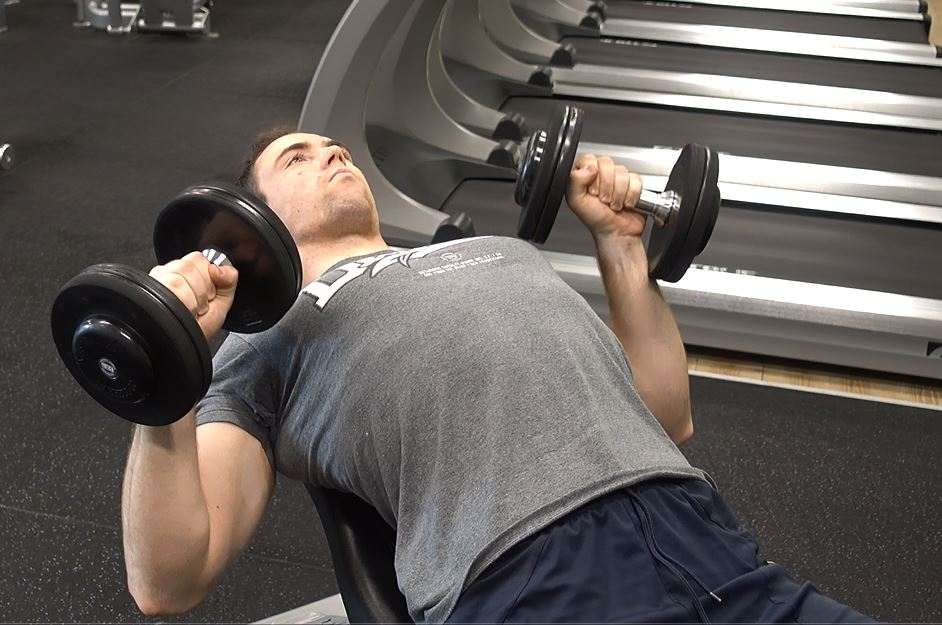 how to incline dumbbell bench press ignore limits