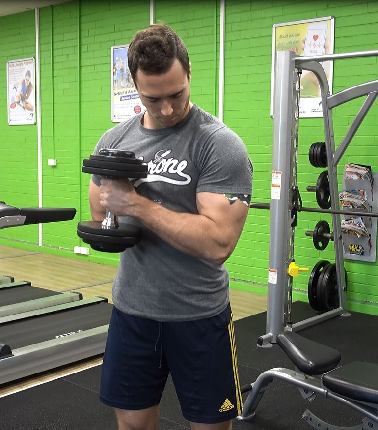 How To: Cross Body Hammer Curl - Ignore Limits