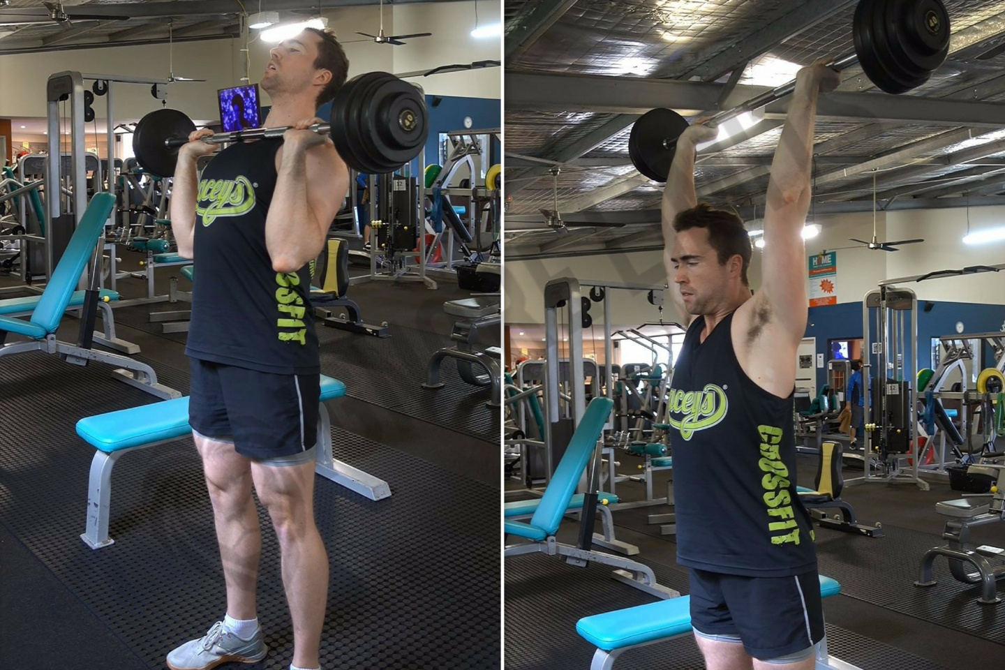 How To Barbell Overhead Press Ignore Limits