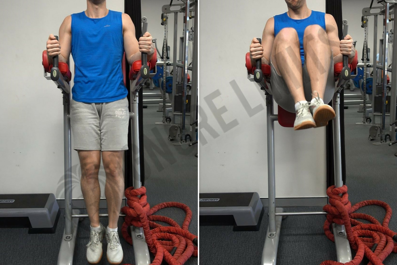 How To: Captains Chair Leg Raise - Ignore Limits