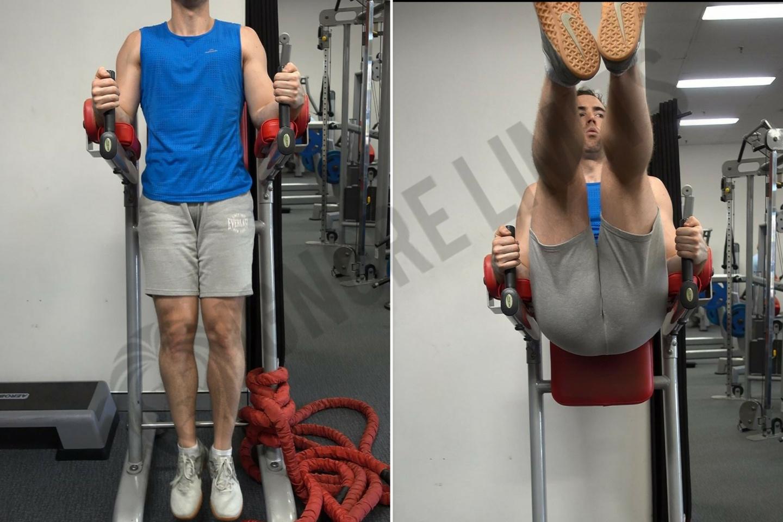Captains chair leg raise muscles worked - Captains Chair Leg Raise Variations