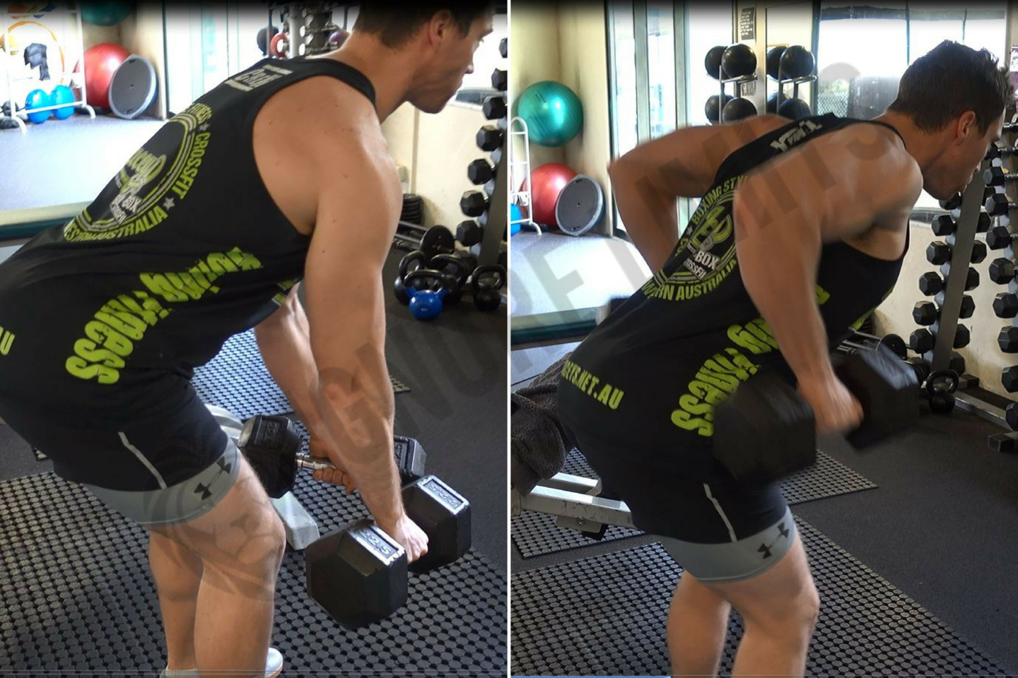How To: Bent Over Two Dumbbell Row - Ignore Limits