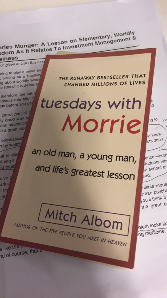 'NEW' Book Review On Tuesdays With Morrie. Cursos horas EQUIPO Sporting Brackets Encontra Courier vessel