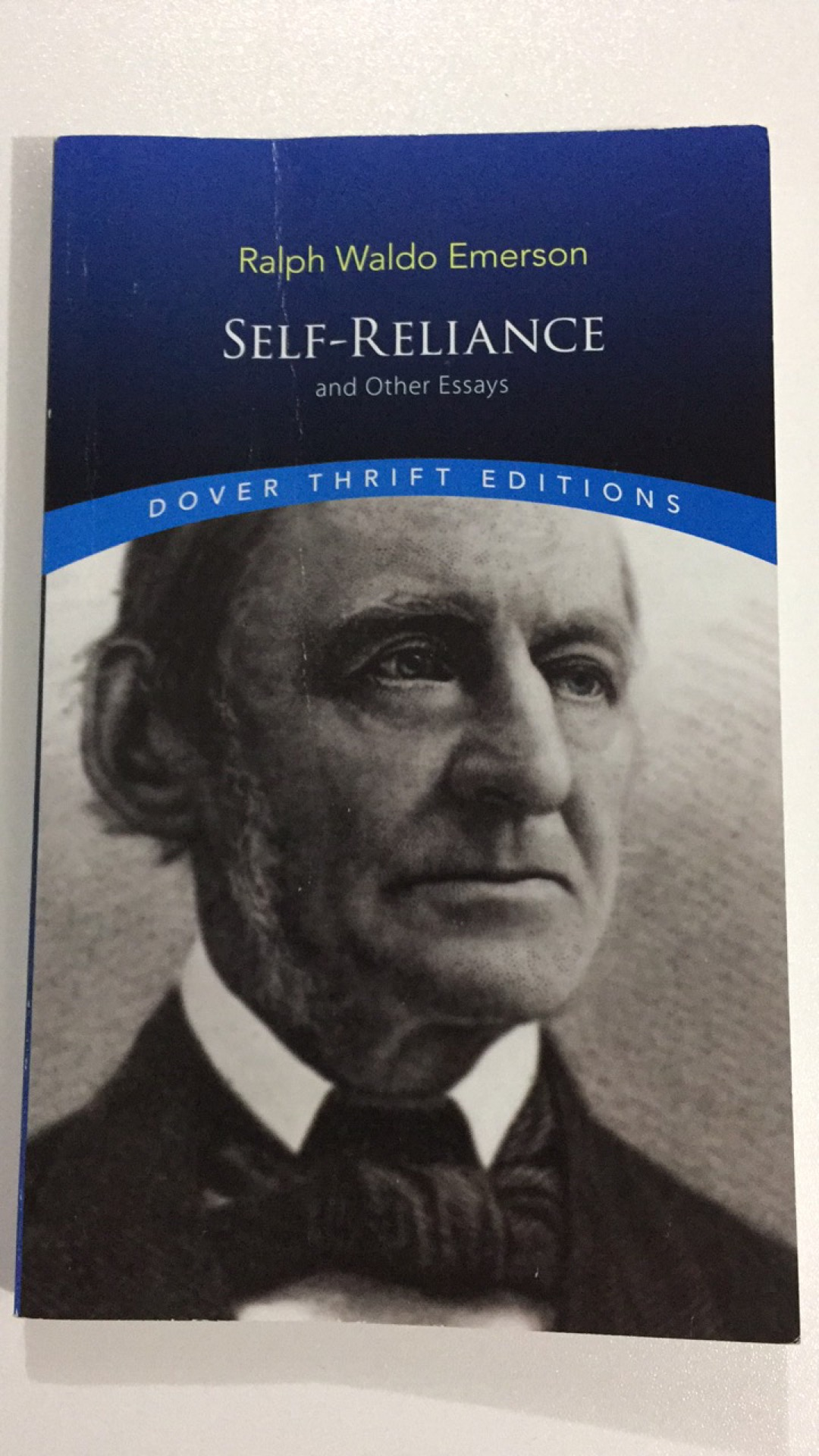 essay about ralph waldo emerson self reliance Self-reliance summary self-reliance, first published in essays (first series) in 1841, is widely considered to be the definitive statement of ralph waldo emerson's philosophy of individualism and the finest example of his prose.