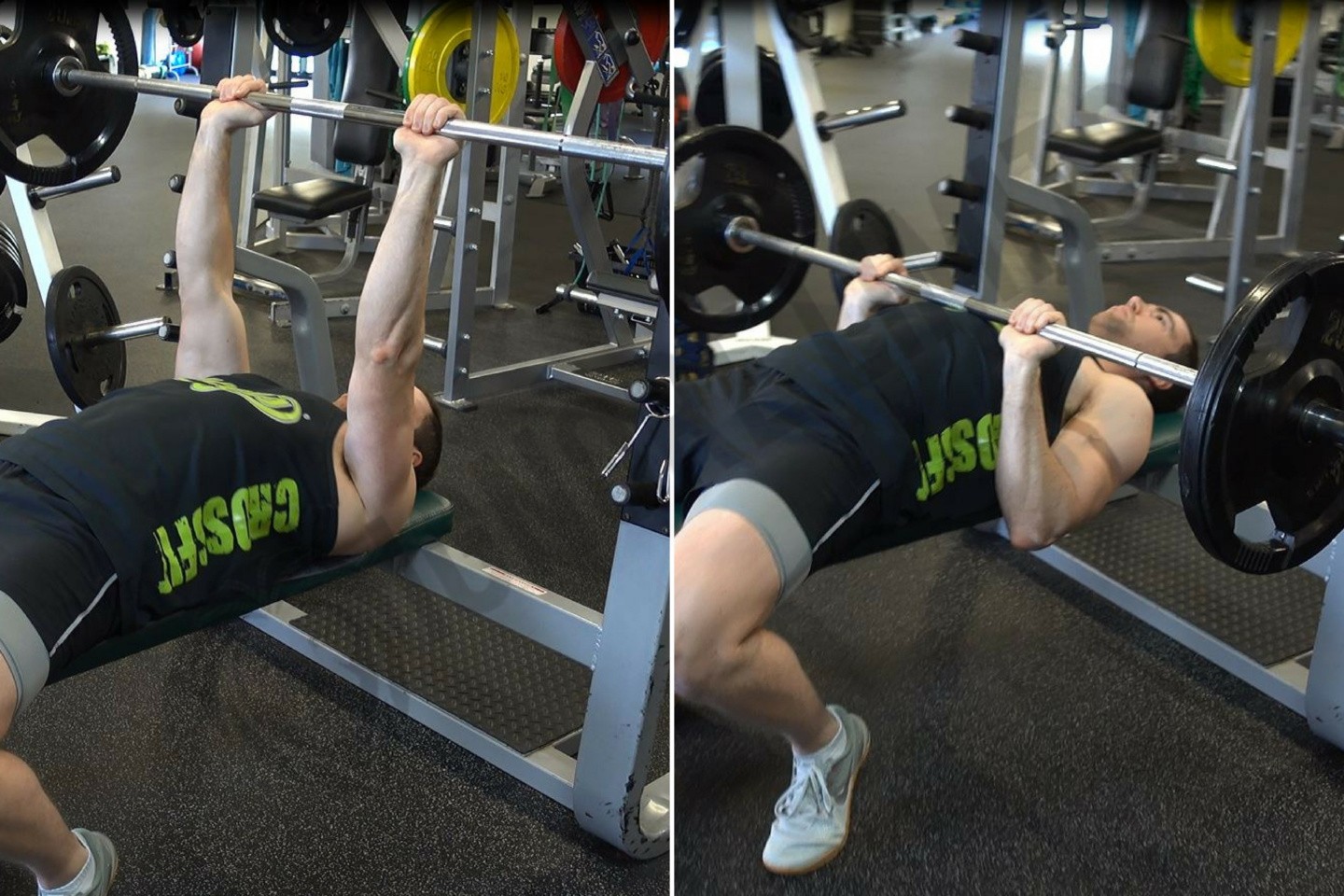 How To Flat Barbell Bench Press Ignore Limits