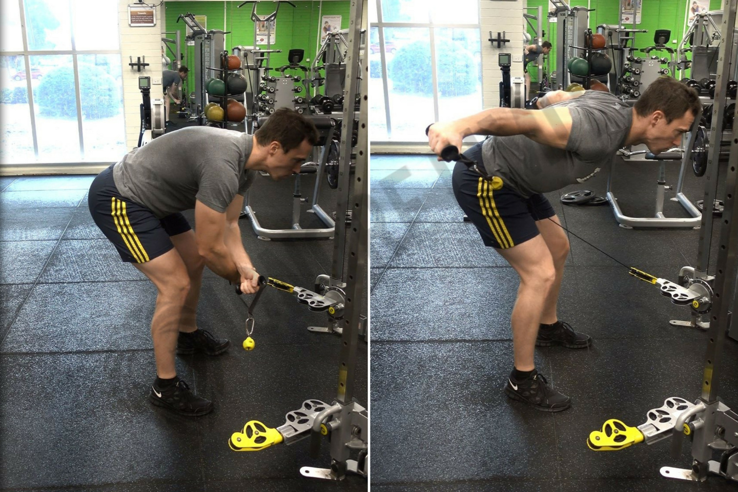 Rear Delt Cable Raise How To: Cable R...
