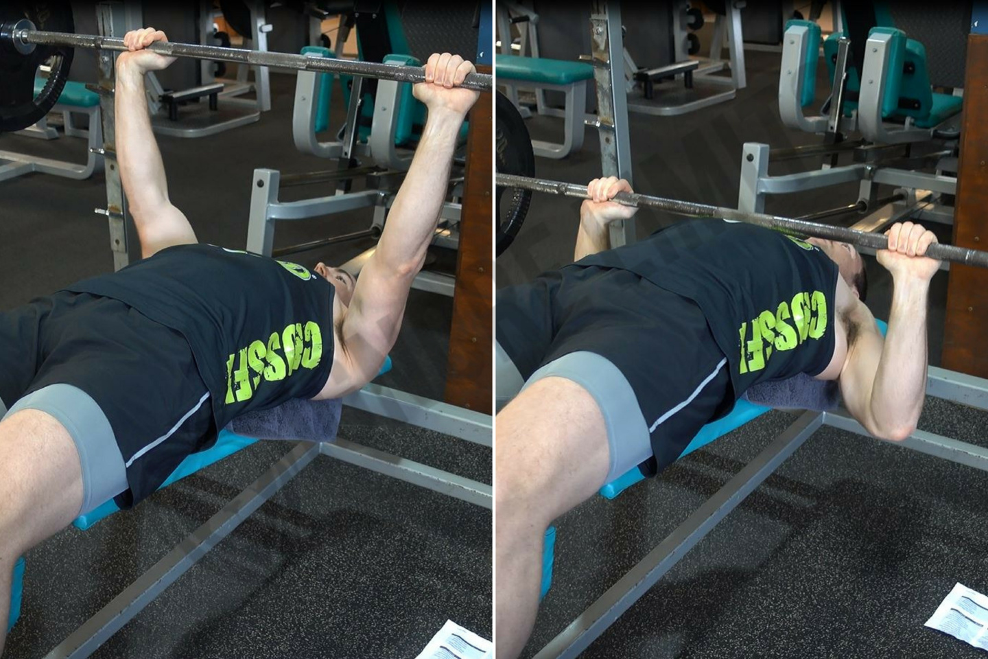 How To Decline Barbell Bench Press Ignore Limits