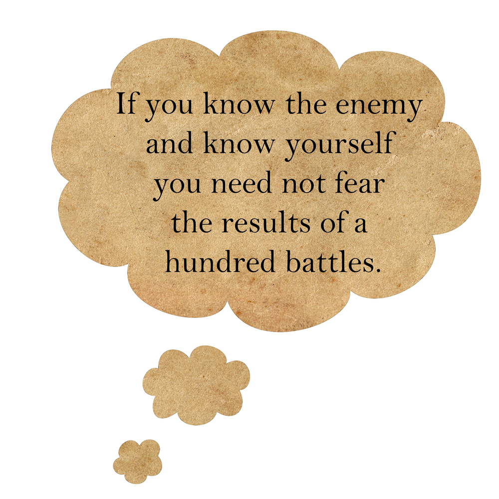 Art Of War Quotes Know Your Enemy: 22 Ancient Powerful Sun Tzu Quotes On War, Success, Life