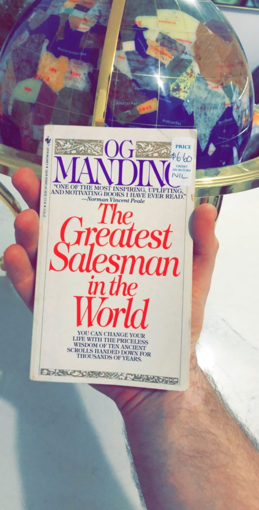 The Greatest Salesman In The World Summary The 10 Scrolls